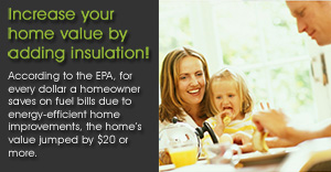 Increase your home value by adding insulation - Foam Chicago